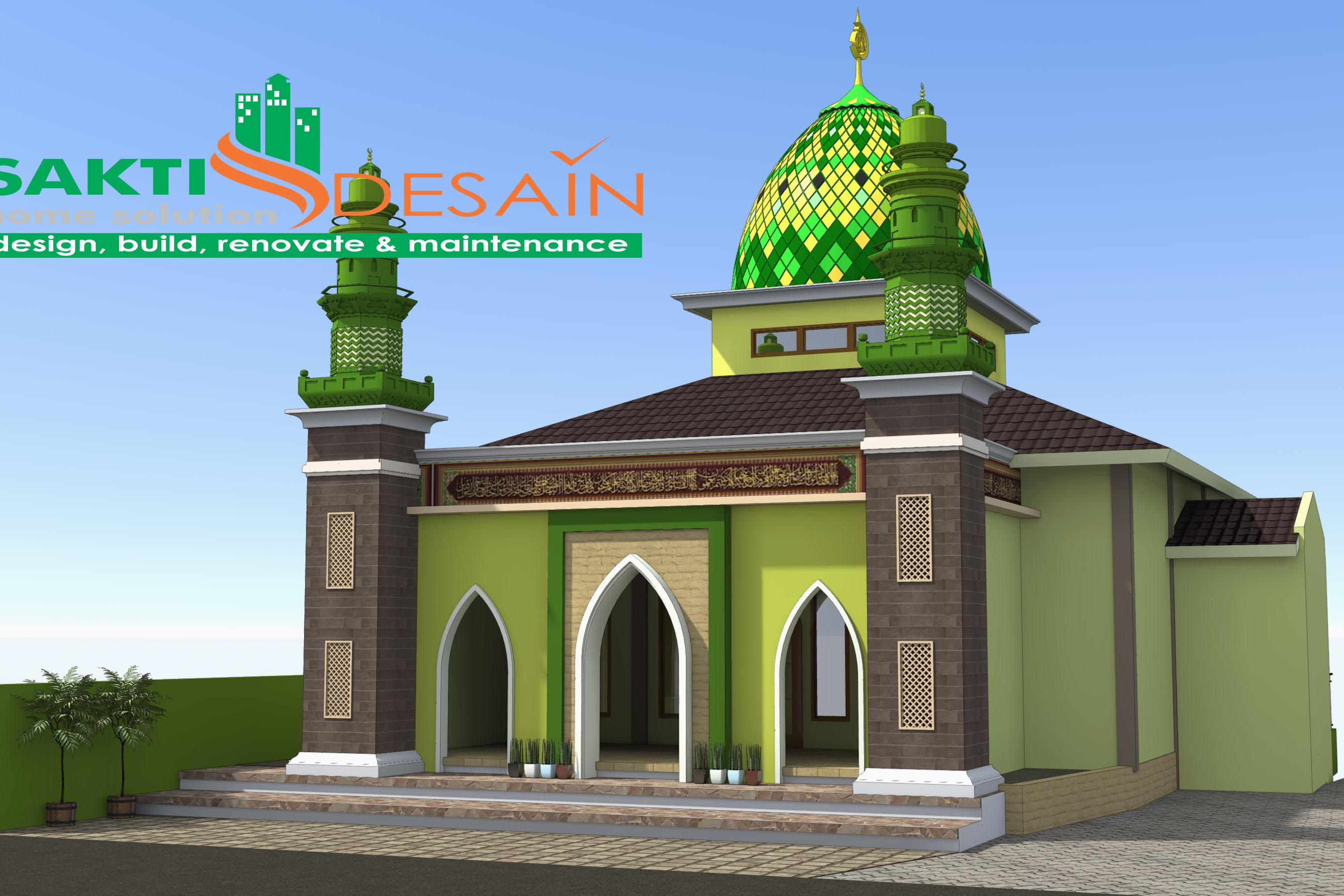 Masjid  Minimalis Terindah Nusagates