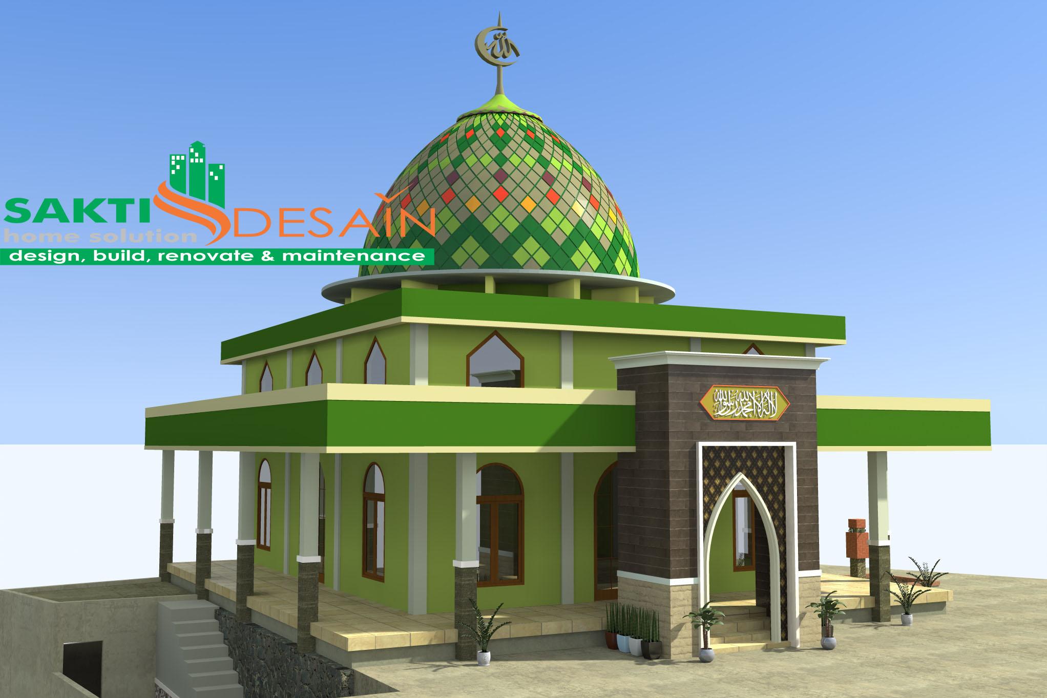 Masjid Kalibawang 1 Sakti Desain