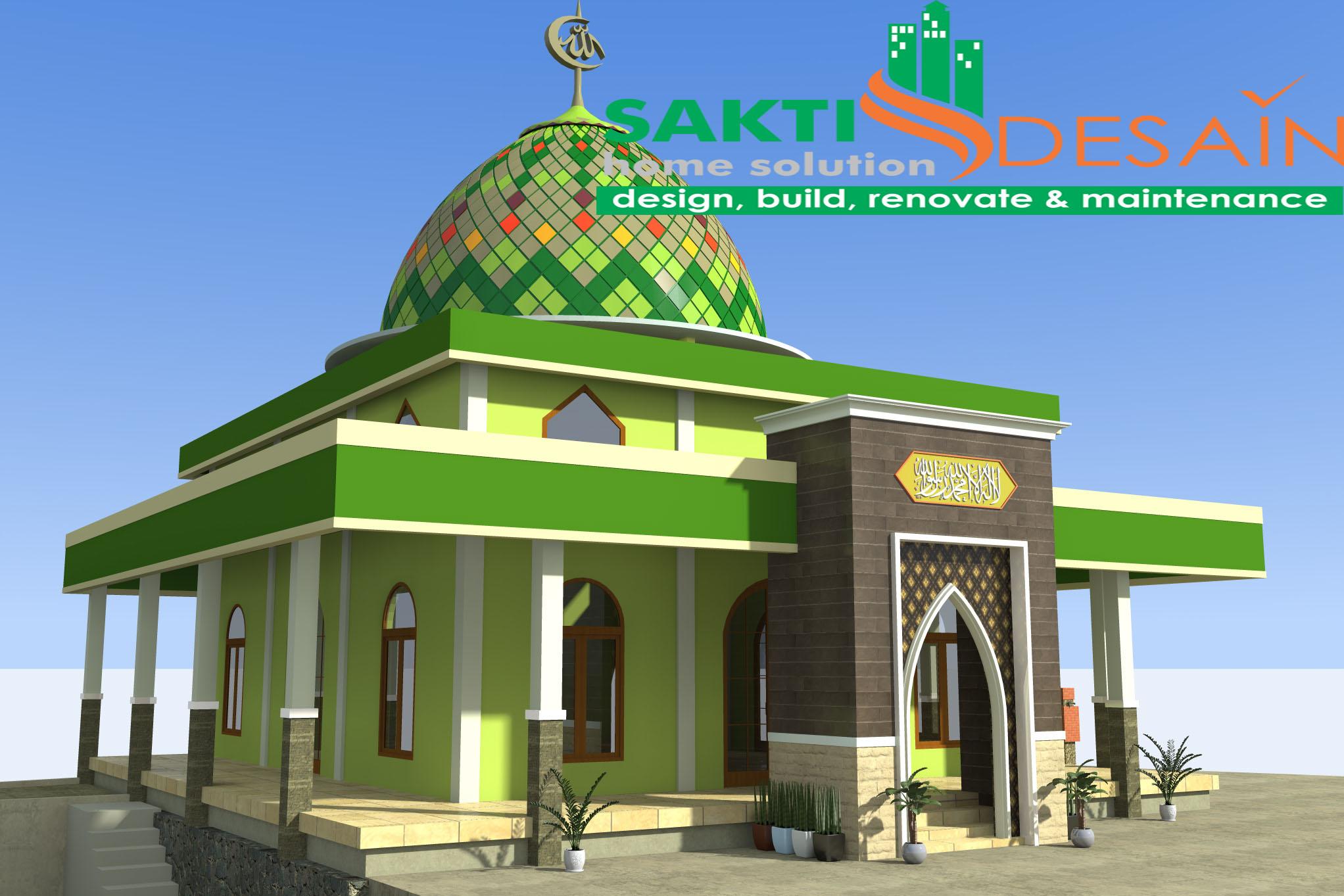 Masjid Garung 6 Sakti Desain