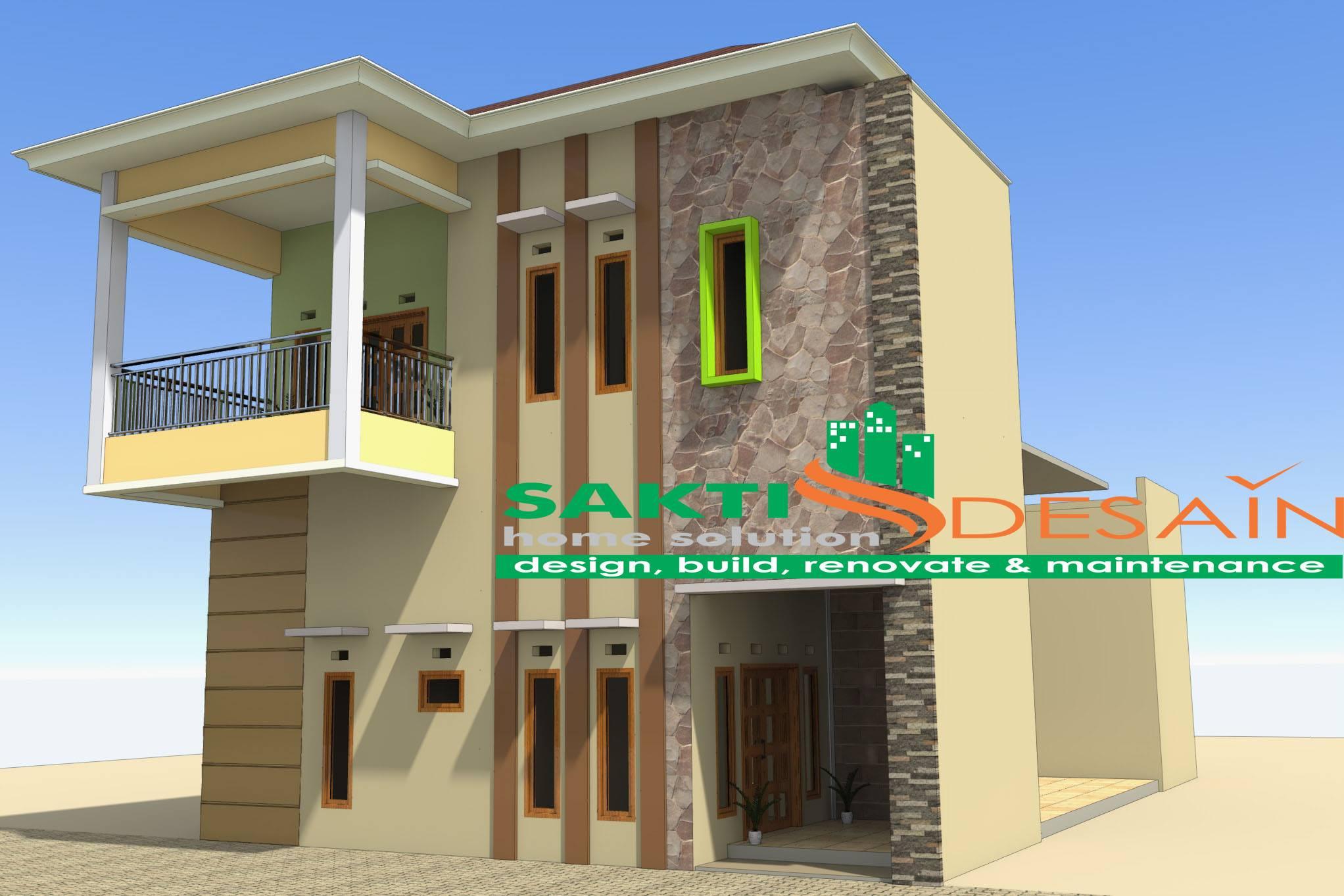 Desain Rumah Minimalis 2 Lantai Sakti Desain SAKTI DESAIN