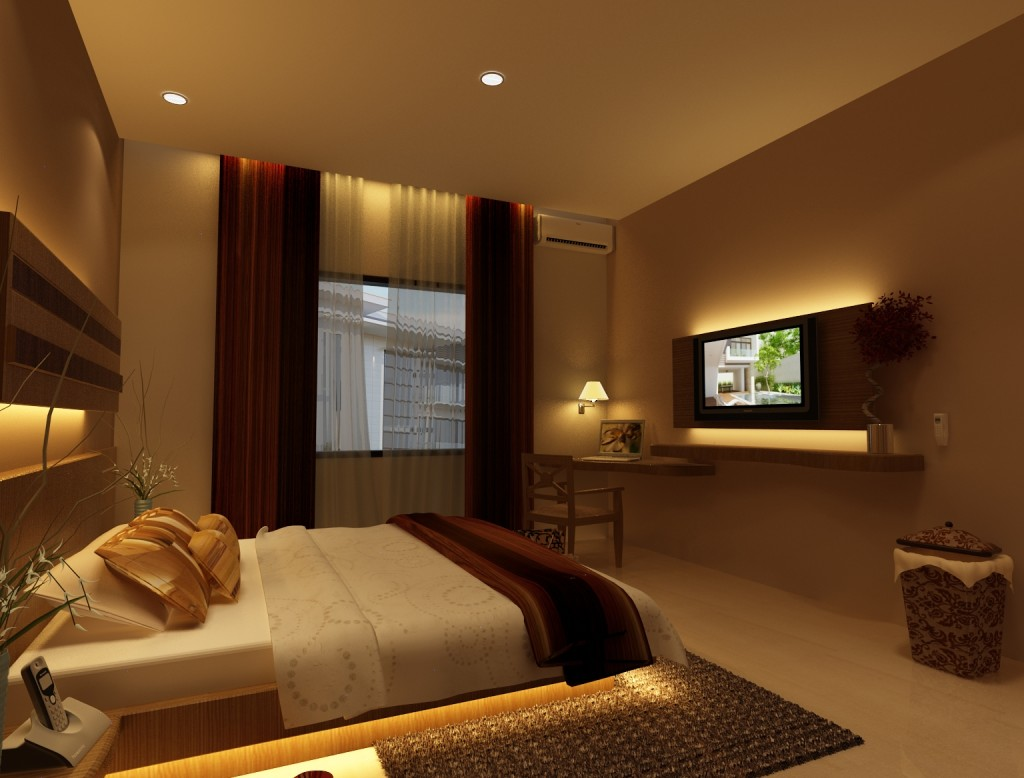 Desain Kamar Tidur Rumah Minimalis Type 45 Sakti Desain