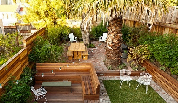 Desain taman atap terbuka yang inspiratif