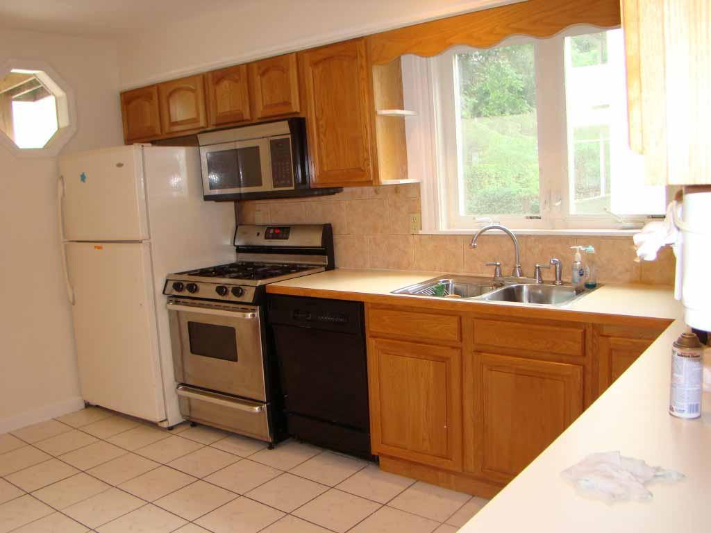 Desain Ruang Dapur Rumah Minimalis Kecil Apartment Classic