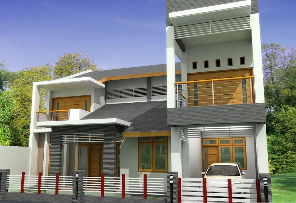 Gambar Desain Rumah Idaman 2 Lantai Sederhana Sakti Desain