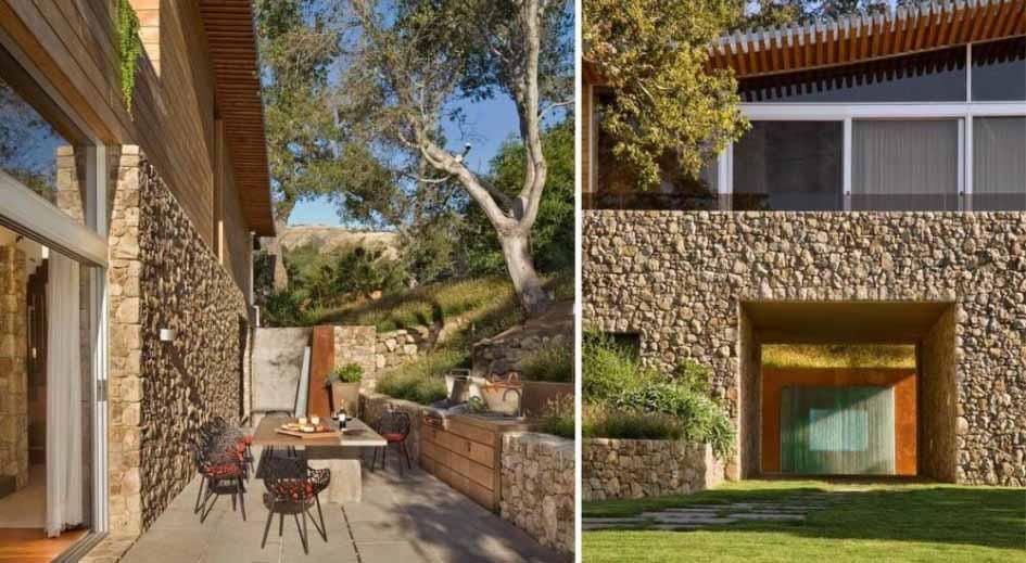 & Desain Rumah dengan Batu Alam Unik dan Cantik - SAKTI DESAIN