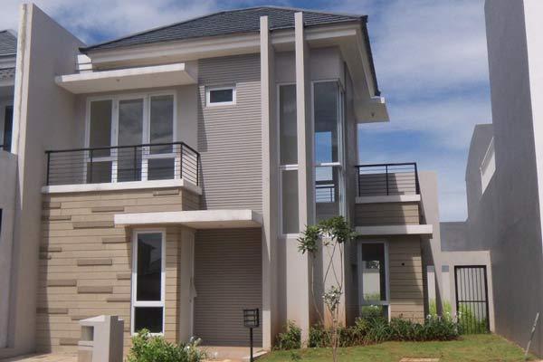 Desain Rumah Minimalis 2 Lantai Tipe 45 Sakti Desain
