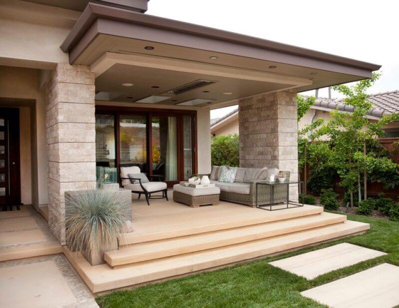 Model Teras Rumah Minimalis Sakti Desain