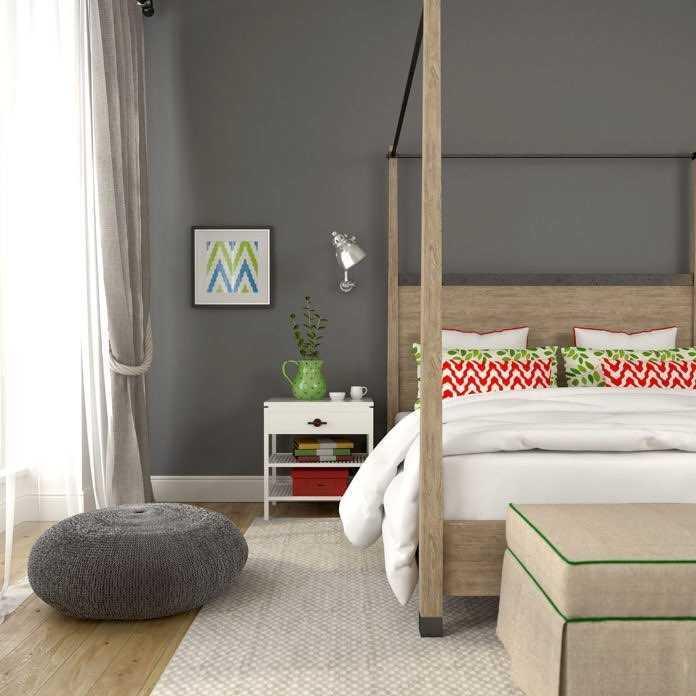 Desain Kamar Tidur Minimalis Ukuran 3x4 Sakti Desain