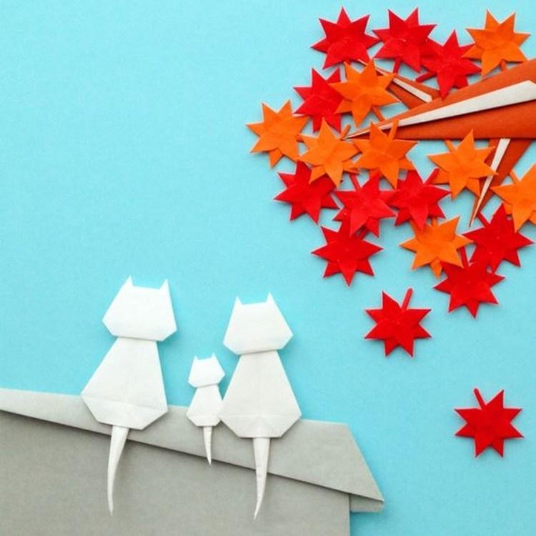 Ide Ide Membuat Hiasan Dinding Dari Origami Sakti Desain