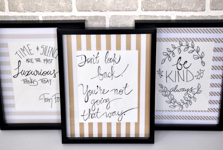 Frames With Quotes On Them: Beberapa Benda Ini Bisa Untuk Membuat Kamar Tumblr