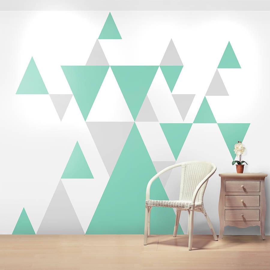 dinding geometri